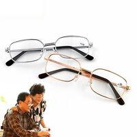 Metal Anti-fatigues Reading Glasses +1.00 1.50 2.00 2.50 3.00 3.50 4.00 DioB FH