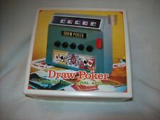 Vintage DRAW POKER Electric Cordless Full Automatic Machine WACO 1971