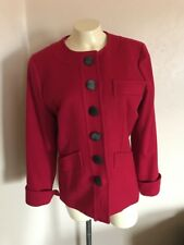 Yves Saint Laurent Pink Wool Jacket Size 36 Euc