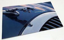 2001 JAGUAR BROCHURE -XJ8-XJ8L-VANDEN PLAS-XJR-S TYPE-XK8-XKR-COUPE&CONVERTIBLE