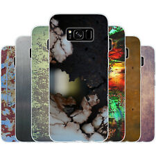 Dessana Metallic Pattern Silicone Protective Cover Phone Case for Samsung A J