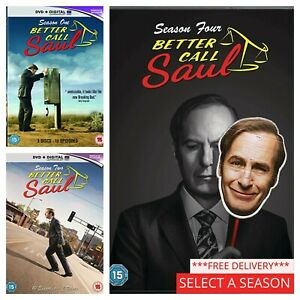 Better Call Saul Season 1 2 3 4 5 - Pick a Complete Series Box Set Collection
