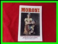 LDS Moroni A Music Drama Based Upon the Lives of Mormon and Moroni Vintage Play