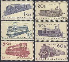 TSCHECHOSLOWAKEI  MiNr. 1603 - 1608 Eisenbahn postfrisch