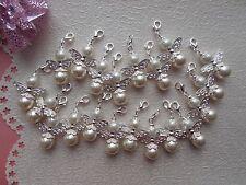 H1) Schutzengel Anhänger Perlen Gastgeschenk Hochzeit Taufe Engel 20 Stück