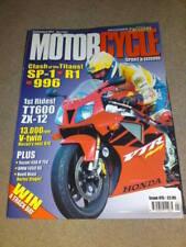 MOTORCYCLE SPORT & LEISURE - TT600 - May 2000