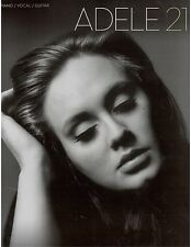 Adele 21 Piano Sheet Music Lyrics Guitar Chords Rolling in the Deep, Lovesong