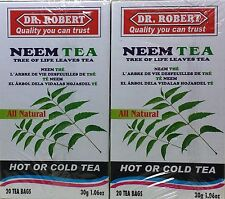 Dr. Robert Neem Tea -  2 pack - 40 Tea Bags