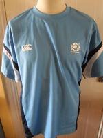 Player Issue Scotland Training Rugby T Shirt adult medium (31185)