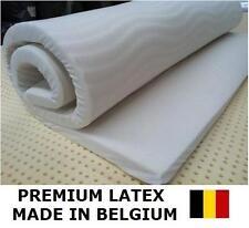 SINGLE LATEX Convoluted Foam Mattress Overlay Topper Made Belgium MEDIUM 3.5cm