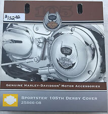 25866-08 Harley-Davidson Sportster 105th Anniversary Derby Cover