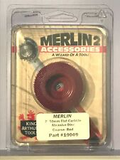 King Arthur's Tools Merlin2 Coarse Red Flat Carbide Abrasive Disc 2