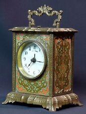 A2 1900 MUCHA superbe pendule pendulette Art nouveau 17cm1.7kg clock réveil ++