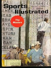1961 APRIL 3  SPORTS ILLUSTRATED * THE MASTERS GOLF* CS5