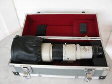 Canon FD 500 mm 4.5 L Tele Objectif avec mallette de transport