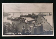 Hampshire SOUTHAMPTON Pier & paddle steamers c1900/20s? PPC