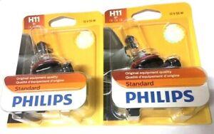 Headlight Bulb-Standard - Single Blister Pack Philips H11B1 2Pcs