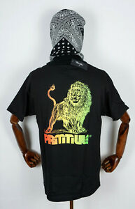 Primitive Skate Skateboards Tee T-Shirt Wax Black in XL