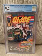 G. I. Joe #114, CGC 9.2, 1991, Marvel Comics, White Pages