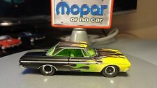1964 Plymouth Fury Custom 1/64 Scale Limited Edition Very Rare 413 Dual Quads