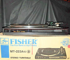 Fisher MT-223A | High Fidelity Stereo Turntable (New!)