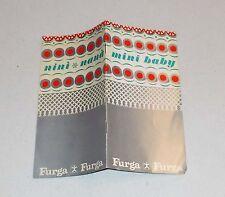 Catalogo FURGA Mini Baby NINI' e NANA' - OTTIMO Catalog Minibaby