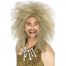 Pelucas y postizos color principal gris de pelo para disfraces y ropa de época