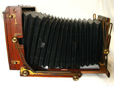 "Antique Sanderson ""Tropical Model"" 6½x8¾ Inch Teak Field Camera For India"