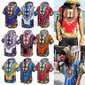 Men's Women's African Dashiki Shirts Hippie Kaftan Festive Dress Boho Hoodies