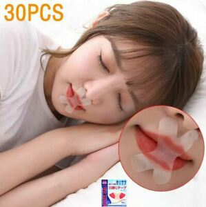 Sleep Strips Mouth Tape Prevent Mouth Breathing for Nose Breathing 30pc(2 Packs)