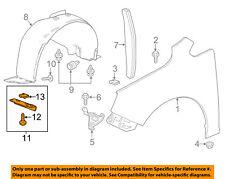 Buick GM OEM 12-17 Verano Fender-Deflector 22836134