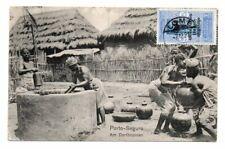 FRANCE/TOGO/DAHOMEY: Occupation postcard to Germany 1921.
