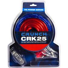 Crunch CRK25 Juego de Cables - 25mm ² 25qmm para Amplificador Amp
