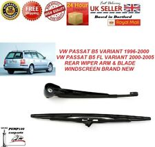 VW PASSAT B5 1996-2005 VARIANT ESTATE COMBI REAR WIPER ARM & BLADE WINDSCREEN