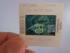 More details for original press promo slide negative - robbie williams - 2000 - take that - b