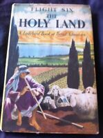 A Ladybird Book Of Travel Adventure Flight Six The Holy Land - Series 587 - 1962