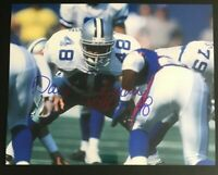 DARYL JOHNSTON NFL Dallas Cowboys Football Auto Autographed Signed 8x10 Photo 4