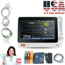 10 Mini Medical Dental Patient Monitor Icu Ccu Vital Sign Cardiac Machine Fda
