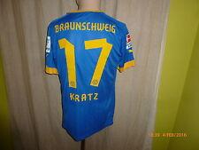 """Eintracht Braunschweig Puma Matchworn Trikot 12/13 """"VW Bank"""" + Nr.17 Kratz Gr.M"""