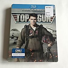 Top Gun Blu-Ray Steelbook [USA] Best Buy Exclusive! First Print! OOS/OOP! NEW!