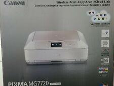 Canon PIXMA MG7720 Wireless All-In-One Inkjet Printer W: Ink