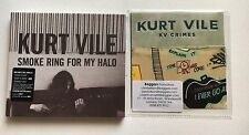 KURT VILE - SMOKE RING FOR MY HALO SEALED NEW CD ALBUM +  KV CRIMES  PROMO CD