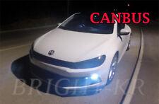 VW SCIROCCO SIDELIGHT Xenon COOL WHITE LED LIGHT Bulbs - ERROR FREE