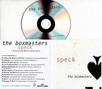 THE BOXMASTERS Speck 2019 UK 11-trk promo CD Geoff Emerick Billy Bob Thornton