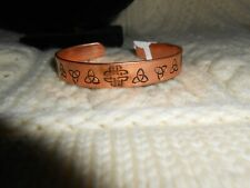 Celtic Irish Copper Cuff Bracelet