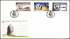 Jersey 1985 Europa, Music FDC First Day Cover #C42302