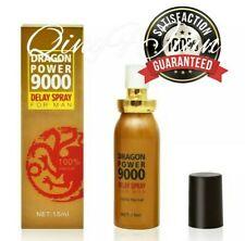 100% Guarantee Dragon Power 9000 Sex Delay Spray For Men 15 ml Up To 60 Minutes