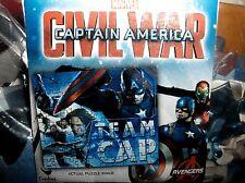 Captain America-Team Cap,100 Small Piece Puzzle`15 Inches X 12 1/2 Inches New