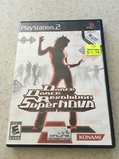 Dance Dance Revolution SuperNova Sony PlayStation 2, 2006  PREOWNED PS2