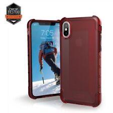 Fundas Para iPhone X color principal rojo para teléfonos móviles y PDAs